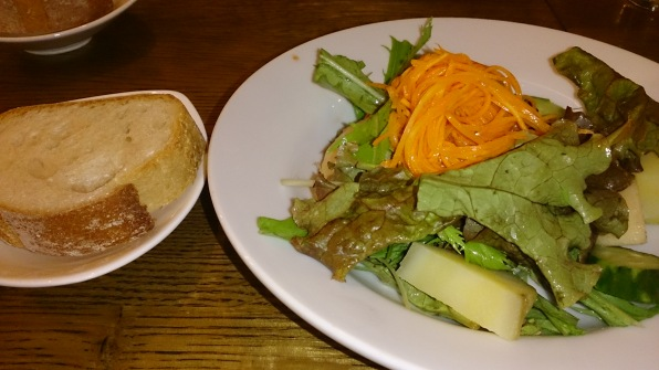 Appetizer (salad & bread)